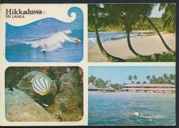 °°° 12135 - SRI LANKA - HIKKADUWA - VIEWS - 1987 With Stamps °°° - Sri Lanka (Ceylon)
