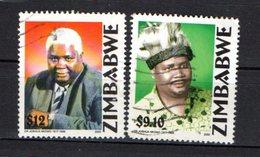 Zimbabwe Scott N°861.862.oblitérés - Zimbabwe (1980-...)