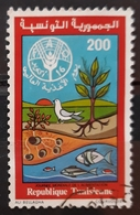 TÚNEZ 1981 World Food Day. USADO - USED. - Tunisia (1956-...)