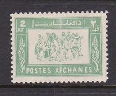 Afghanistan SG 464 1960 Buzhashi Game 2a Green MNH - Afghanistan