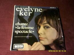 EVELYNE KER   CHANTE LA FEMME SPECTACLE   FILM DE CLAUDE LELOUCHE  AVEC JEAN YANNE - Soundtracks, Film Music