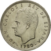 Monnaie, Espagne, Juan Carlos I, 25 Pesetas, 1980, SPL, Copper-nickel, KM:818 - [ 5] 1949-… : Royaume