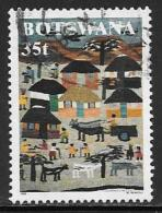 Botswana, Scott # 664 Used Textile,1998 - Botswana (1966-...)