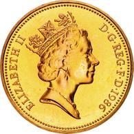 Monnaie, Grande-Bretagne, Elizabeth II, 2 Pence, 1986, SPL, Bronze, KM:936 - 1971-… : Monnaies Décimales