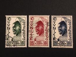 FRANCE Tunisie - Oblitéré - Série 1950 - Oblitérés
