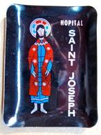 CENDRIER EN METAL HOPITAL SAINT JOSEPH - Ashtrays