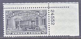 U.S.  E 19  **   MAIL VAN     1951  Issue - Special Delivery, Registration & Certified