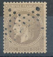 N°30 NUANCE OBLITERATION. - 1863-1870 Napoléon III Lauré