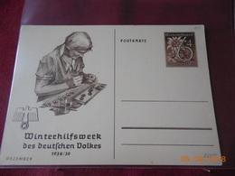 Lot De 4 Entiers Postaux D Allemagne De 1938/1939 Meme Serie. - Deutschland