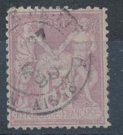 N°95 NUANCE OBLITERATION - 1876-1898 Sage (Type II)