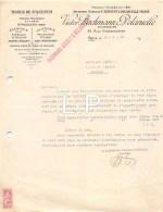 10-0733     1952 TISSUS DE SAINT QUENTIN VICTOR BACHMANN ET DELARUELLE A PARIS - M. LAVENUE A RETHEL - France