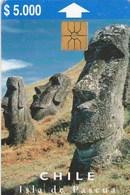 CHILE..ISLA DE PASCOA   5.000 - Chile