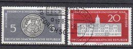 DDR  647 - 648  Gestempelt - Gebraucht