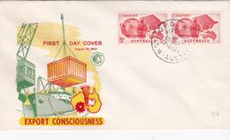 Australia 1963 Export, WCS FDC - FDC