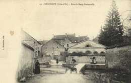 DELONGEY (Cote D'Or ) Rue Du Rang Pastourelle RV - Autres Communes