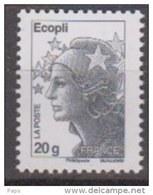 2011-N° 4565a** MARIANNE DE BEAUJARD ECOPLI SANS PHOS.REIMPRESSION DU 06/10/2011 - France
