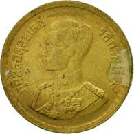 Monnaie, Thaïlande, Rama IX, 25 Satang = 1/4 Baht, 1957, TTB, Aluminum-Bronze - Thaïlande