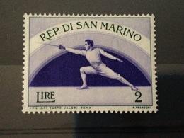 SAINT-MARIN - Neuf** - Série 1954 - Sport - Saint-Marin