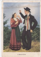 La Ronde Des Provinces Françaises - Série B 4/10 - Limousin - Costumes De Cérémonie Du Plateau De Millevaches - Folklore - France