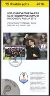 Croatia 2018 / Croatia's Success At The FIFA World Cup Russia / Croatian Football Team / Prospectus, Leaflet, Brochure - Kroatien