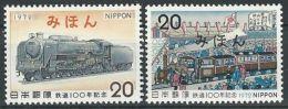 JAPAN 1972 Mi-Nr. 1164/65 Mihon/Specimen ** MNH - 1926-89 Emperor Hirohito (Showa Era)