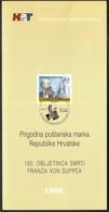 Croatia 1995 / 100th Anniversary Of The Death Of Franz Von Suppe / Music, Composer / Prospectus, Leaflet, Brochure - Croatie