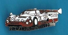 PIN'S //  ** LE MANS / 1990 / JAGUAR XJR 12 / PILOTES / John NIELSEN Price COBB & Martin BRUNDLE ** - Jaguar