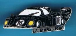 PIN'S //  ** LE MANS ** 1980 ** RONDEAU M379 B ** N° 16 ** PILOTES ** Jean RONDEAU & Jean-Pierre JAUSSAUD ** - F1
