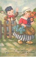 CPA - Hèmes - Fêtes - Voeux - Amag - De Notre Petit Coeur, - Anniversaire