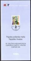 Croatia 1994 / International Olympic Committee / Croatian Olympic Day / Prospectus, Leaflet, Brochure - Kroatien