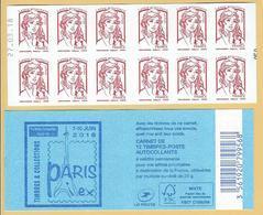 CARNET 12TP CIAPPA - TVP LP -  PARIS PHILEX 2018 - DATE DU 27 03 18 - NEUF - NON PLIE - Carnets