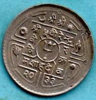 T10/  NEPAL  50 PAISA  2033 ( 1976 )   KM#821 - Népal