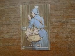 Qui Vive ? , Permissionnaire ....... Service Commandé - Guerre 1914-18