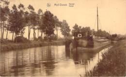 Belgique - Moll-Donck - Kanaal (péniche) - Mol