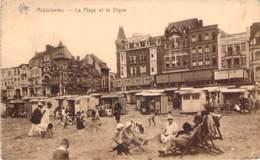 Belgique - Middelkerke - La Plage Et La Digue - Middelkerke