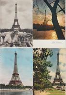 PARIS  -  TOUR EIFFEL  -  LOT DE 45 CARTES  - Grand Et Petit Format  - - 5 - 99 Karten