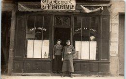 A IDENTIFIER --  Changement De Propriétaire - Clichy ?? - Cartes Postales