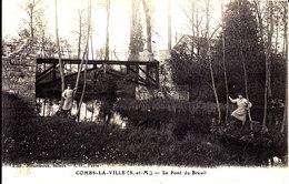 77 . Seine Et Marne .  Combs La Ville .  Le Pont Du Breuil . - Combs La Ville