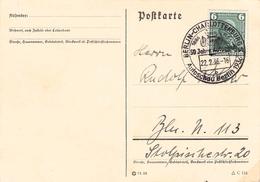 DEUTSCHES REICH - POSTKARTE 6 PF BENZ 1936 Mi #604 - Germany