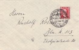 DEUTSCHES REICH - BRIEF 12 PF BENZ 1936 Mi #605 - Germany