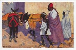 Morocco - A Roadside Study - Tuck Oilette 7427 - Morocco
