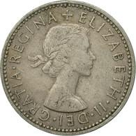 Monnaie, Grande-Bretagne, Elizabeth II, Shilling, 1954, TB+, Copper-nickel - 1902-1971 : Monnaies Post-Victoriennes