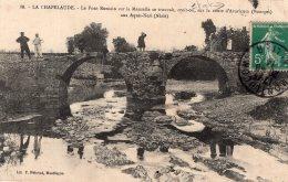 182 - Cpa 03   La Chapelaude - Le Pont Romain Sur La Meuzelle - Non Classés