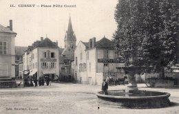 185 - Cpa 03 Cusset - Place Félix Cornil - Frankrijk