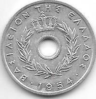 *greece 10 Lepta 1954  Km 78  Xf+ - Grèce
