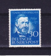 Duitsland 1952 Nr 46 **, Zeer Mooi Lot Krt 3024 - Unused Stamps