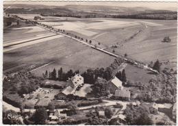 52 - PIERREFAITE (Hte-Marne) - Vue Aérienne. Une Partie Du Village, Le Château, La Route Nationale - 1965 - Autres Communes