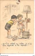 Carte Postale Je L'ai Acheté Au Mètre, Je N'ai Pas Regardé à La Dépense Germaine Bouret - Bouret, Germaine