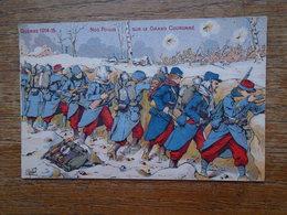 Guerre 1914-15 , Nos Poilus Sur Le Grand Couronné - Guerre 1914-18