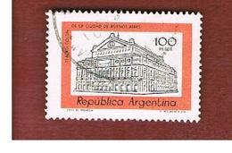 ARGENTINA - SG 1543  - 1977  BUILDINGS:   COLUMBUS THEATRE DE BUENOS AIRES   -   USED ° - Argentina